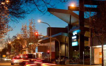 Stockland Merrylands Outside Night