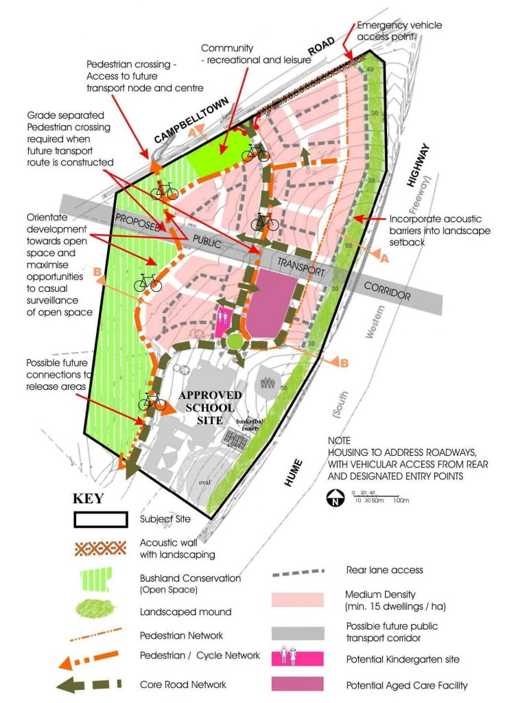 Edmondson Park Smart Growth Development Control Plan  Dfp Planning